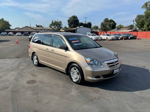 2007 Honda Odyssey for sale at Mega Motors Inc. in Stockton CA