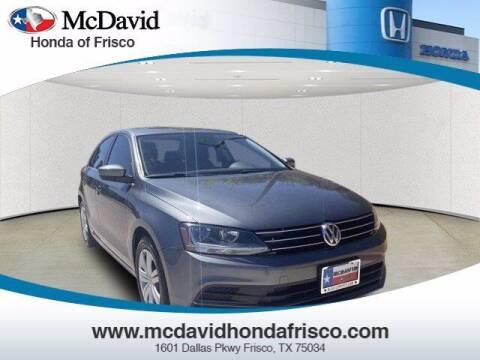 2017 Volkswagen Jetta for sale at DAVID McDAVID HONDA OF IRVING in Irving TX