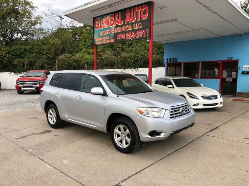 2008 Toyota Highlander for sale at Global Auto Sales and Service in Nashville TN