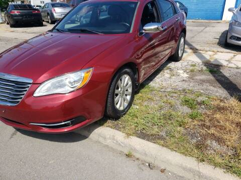 2013 Chrysler 200 for sale at M & C Auto Sales in Toledo OH