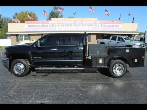 2015 Chevrolet Silverado 3500HD for sale at Kents Custom Cars and Trucks in Collinsville OK