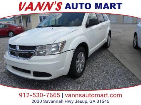 2016 Dodge Journey for sale at VANN'S AUTO MART in Jesup GA