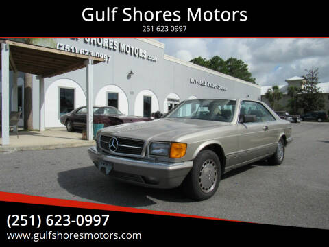 1990 Mercedes-Benz 560-Class for sale at Gulf Shores Motors in Gulf Shores AL