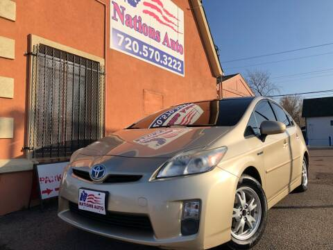 2011 Toyota Prius for sale at Nations Auto Inc. II in Denver CO