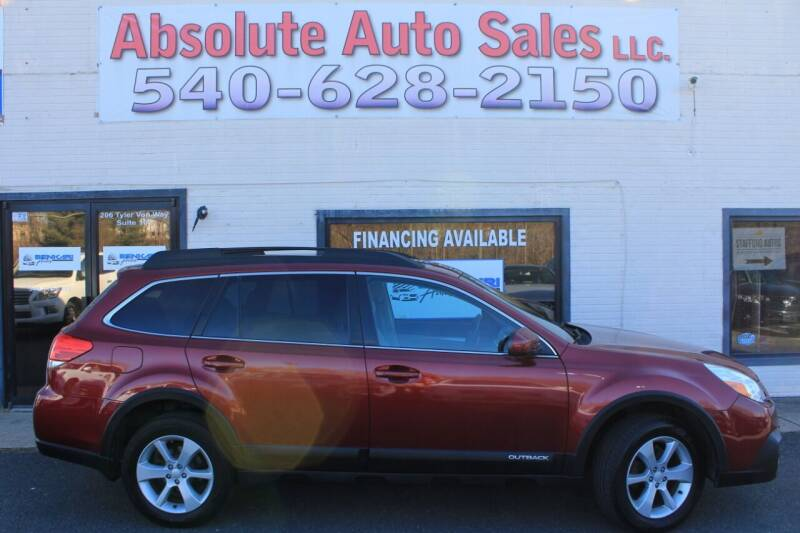 2014 Subaru Outback for sale at Absolute Auto Sales in Fredericksburg VA