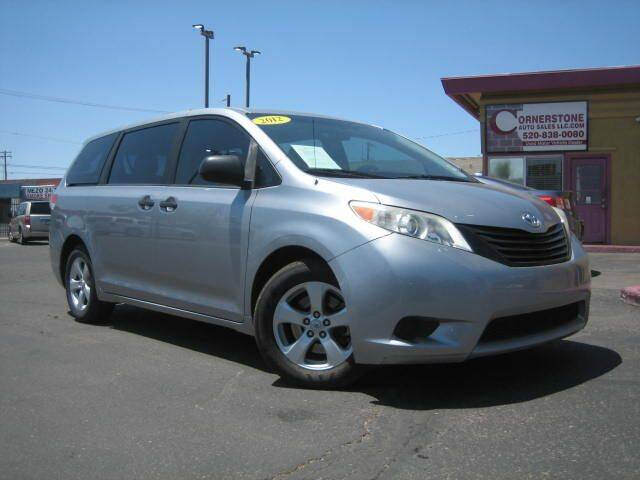 2011 Toyota Sienna for sale at Cornerstone Auto Sales in Tucson AZ