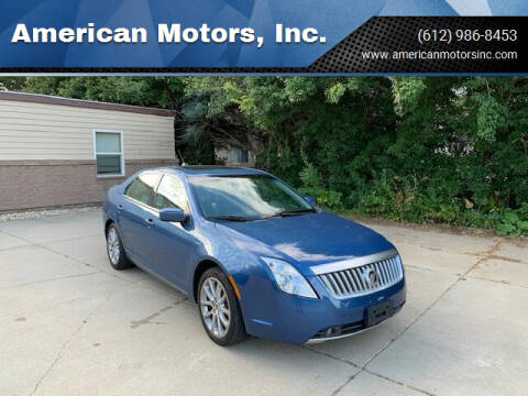 2010 Mercury Milan for sale at American Motors, Inc. in Farmington MN