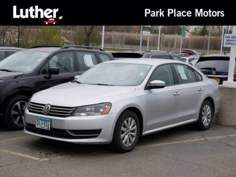 2013 Volkswagen Passat for sale at Park Place Motor Cars in Rochester MN