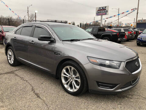 2014 Ford Taurus for sale at SKY AUTO SALES in Detroit MI