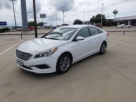 2016 Hyundai Sonata for sale at Jerry's Buick GMC in Weatherford TX