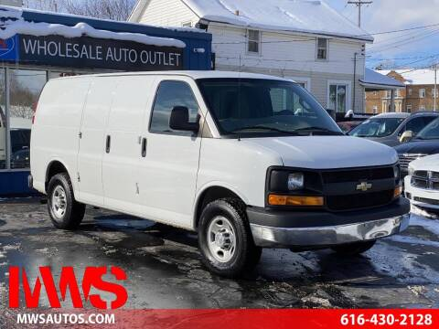 2016 Chevrolet Express Cargo for sale at MWS Wholesale  Auto Outlet in Grand Rapids MI