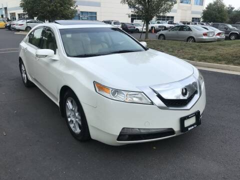 2009 Acura TL for sale at Dotcom Auto in Chantilly VA