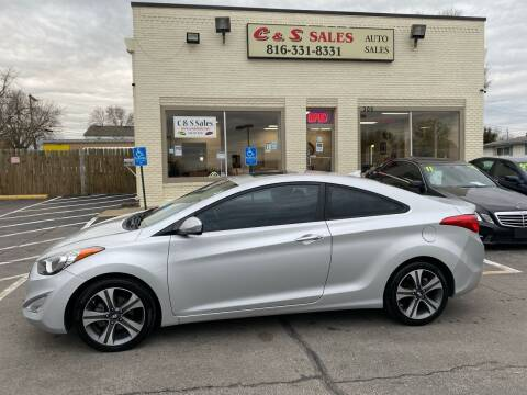 2013 Hyundai Elantra Coupe for sale at C & S SALES in Belton MO