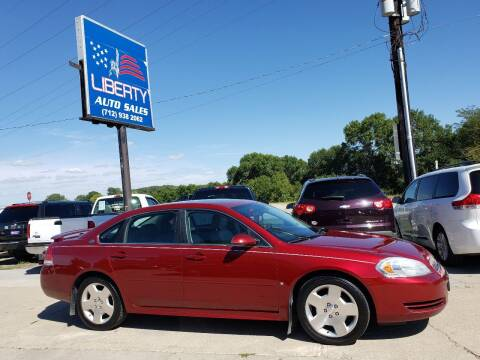2008 Chevrolet Impala for sale at Liberty Auto Sales in Merrill IA