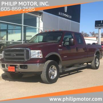 2005 Ford F-250 Super Duty for sale at Philip Motor Inc in Philip SD