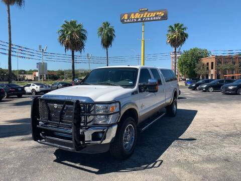 2013 Ford F-350 Super Duty for sale at A MOTORS SALES AND FINANCE in San Antonio TX