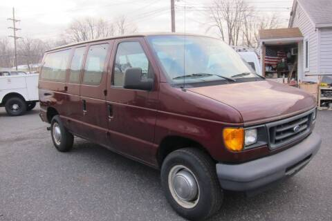 2006 Ford E-Series Wagon for sale at K & R Auto Sales,Inc in Quakertown PA