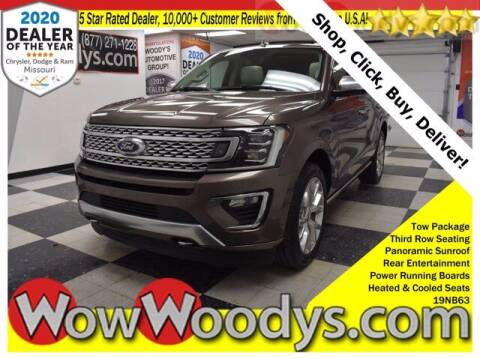 2019 Ford Expedition for sale at WOODY'S AUTOMOTIVE GROUP in Chillicothe MO