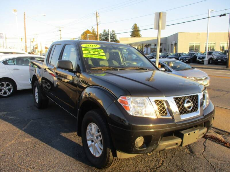 2019 Nissan Frontier for sale at AUTO FACTORY INC in East Providence RI