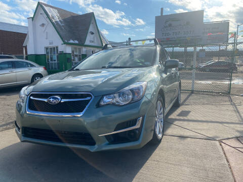 2016 Subaru Impreza for sale at GO GREEN MOTORS in Denver CO
