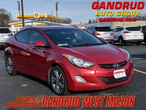 2013 Hyundai Elantra for sale at GANDRUD CHEVROLET in Green Bay WI
