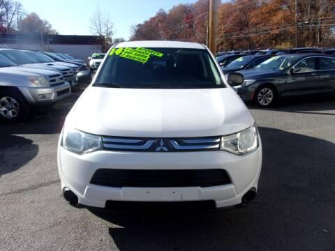 2014 Mitsubishi Outlander for sale at Balic Autos Inc in Lanham MD