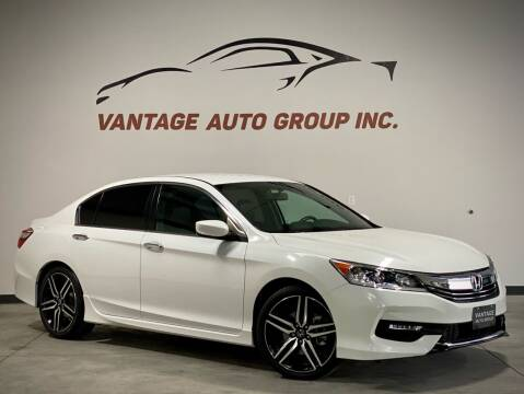 2017 Honda Accord for sale at Vantage Auto Group Inc in Fresno CA