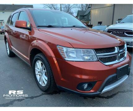 2014 Dodge Journey for sale at RS Motors in Falconer NY