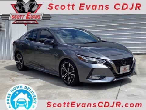 2020 Nissan Sentra for sale at SCOTT EVANS CHRYSLER DODGE in Carrollton GA
