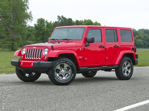 2017 Jeep Wrangler Unlimited for sale at CHEVROLET OF SMITHTOWN in Saint James NY