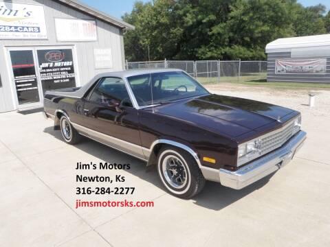 1985 Chevrolet El Camino for sale at Jim's Motors in Newton KS