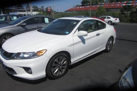 2013 Honda Accord for sale at Burgess Motors Inc in Michigan City IN