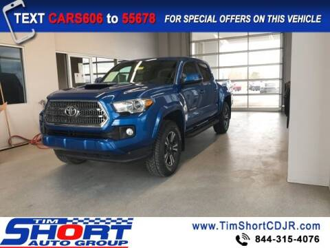 2017 Toyota Tacoma for sale at Tim Short Chrysler in Morehead KY