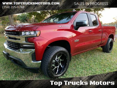 2019 Chevrolet Silverado 1500 for sale at Top Trucks Motors in Pompano Beach FL