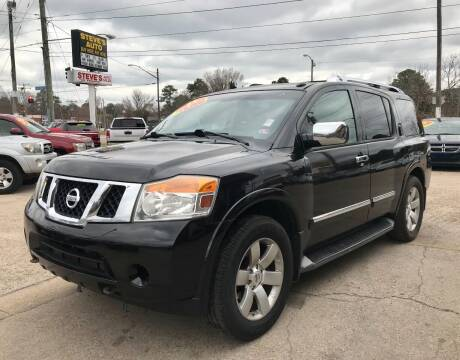 2011 Nissan Armada for sale at Steve's Auto Sales in Norfolk VA