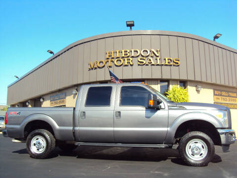 2013 Ford F-250 Super Duty for sale at Hibdon Motor Sales in Clinton Township MI