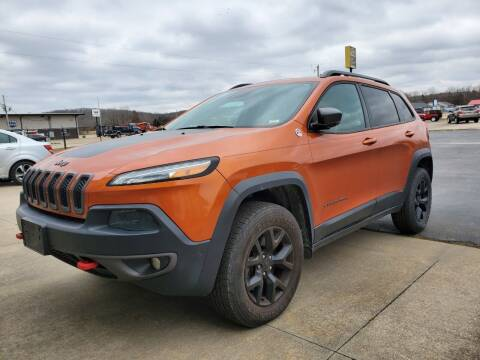 2014 Jeep Cherokee for sale at Farmington Auto Plaza in Farmington MO