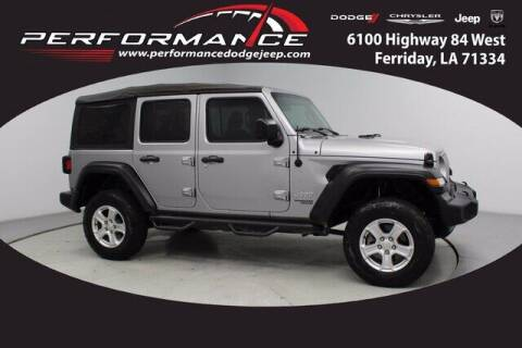 2018 Jeep Wrangler Unlimited for sale at Auto Group South - Performance Dodge Chrysler Jeep in Ferriday LA