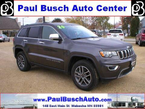 2020 Jeep Grand Cherokee for sale at Paul Busch Auto Center Inc in Wabasha MN