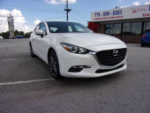 2018 Mazda MAZDA3 for sale at Trust Autos, LLC in Decatur GA