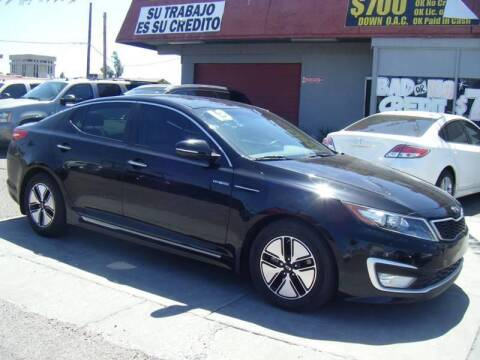 2013 Kia Optima Hybrid for sale at Sunday Car Company LLC in Phoenix AZ