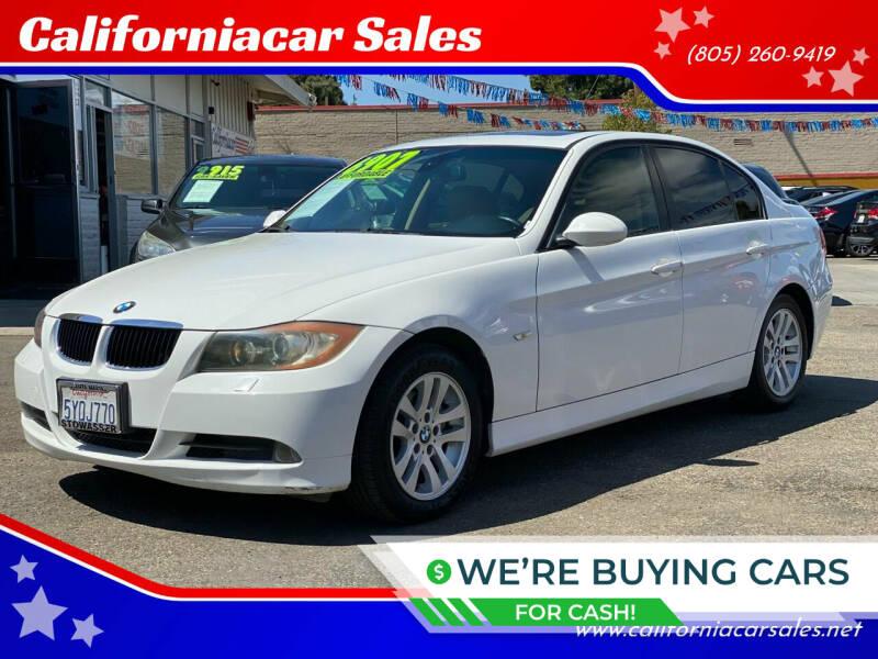 2007 BMW 3 Series for sale at Californiacar Sales in Santa Maria CA