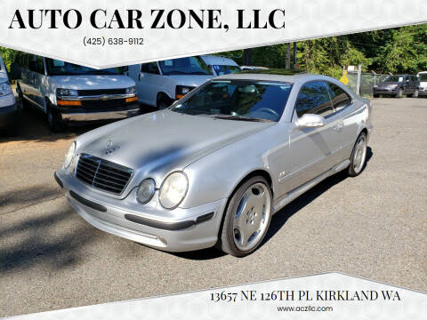 2001 Mercedes-Benz CLK for sale at Auto Car Zone, LLC in Kirkland WA
