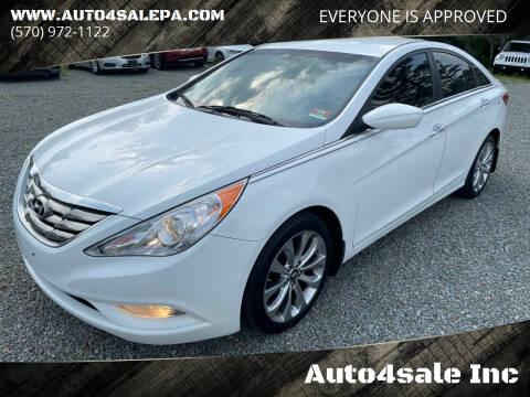 2013 Hyundai Sonata for sale at Auto4sale Inc in Mount Pocono PA
