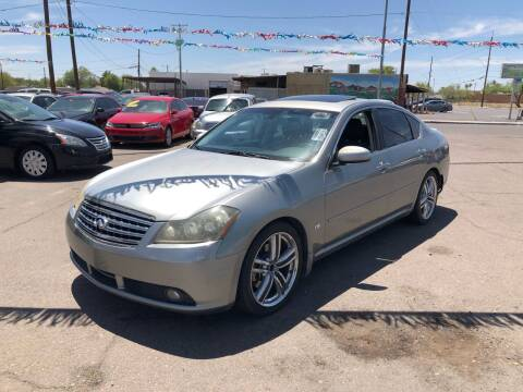 2007 Infiniti M45 for sale at Valley Auto Center in Phoenix AZ
