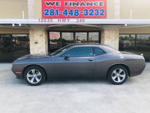 2019 Dodge Challenger for sale at FREDYS CARS FOR LESS in Houston TX