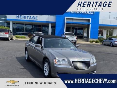 2014 Chrysler 300 for sale at HERITAGE CHEVROLET INC in Creek MI