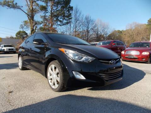 2013 Hyundai Elantra for sale at Deer Park Auto Sales Corp in Newport News VA
