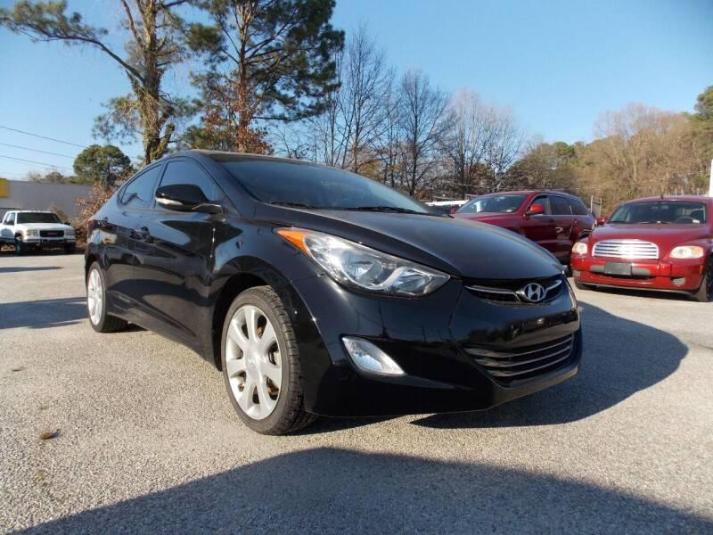 2013 Hyundai Elantra for sale at Deer Park Auto Sales Corp in Newport News VA