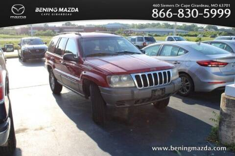 2002 Jeep Grand Cherokee for sale at Bening Mazda in Cape Girardeau MO
